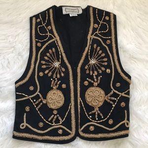 Vintage hype beaded vest